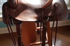 Selling: G bar G Ranch Saddle 15.5""