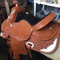 Selling: Stunning Western Show Saddle with Matching Accessories 16""