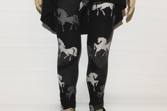Selling: NEW Girl's Western Horse Printed Leggings Pants -Small