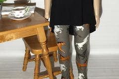 Selling: NEW Girl's Horse Printed Leggings Pants Small Fits 3-5 yrs