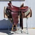 Selling: Colorado Saddlery Desert Classic A Fork Working Saddle 16""