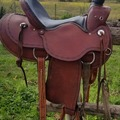 Selling: Western Working Saddle 16.5""