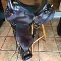 Selling: Imus 4 Beat Saddle for Gaited Horse 15""