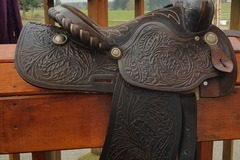 Selling: Simco Western Saddle 15""