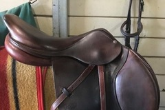 Selling: 2014 CWD Saddle Rare Special Order 17.5""