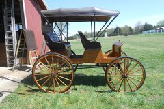 Selling: Surrey, 1 or 2 Horse, Amish Carriage