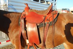 Selling: New Tucker Trail Saddle 16.5""