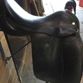 "Selling: Classic Vivian Dressage Saddle 17.5"" W"