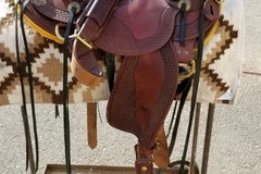 Selling: JJ Maxwell Saddle 16'5""