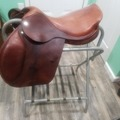 "Selling: Jaguar Close Contact Saddle 17.5"" W"