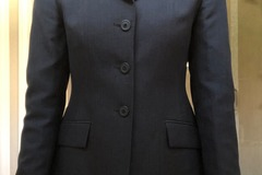Selling: R.J. Classic Navy Blue Show Coat Size: 2R