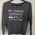 """Selling: Equo """"Me Finding a Distance"""" Coverup - New - Size S"""