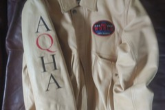 Selling: AQHA World and AQHA Congress Leather Jackets