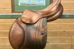 "Selling: 2009 CWD SE02 Saddle 17"" TR 3C Semi Deep Seat - Beautiful"