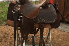 """Selling: Martin Crown C 10"""" Gullet Saddle 14.5"""""""