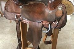 "Selling: Leddys Ranch Cutter Saddle 16"""