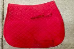 Selling: Red English Saddle pad