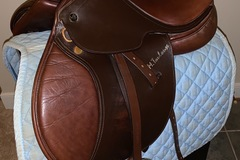 Selling: Junior Saddle  M Toulouse Celine Close Contact 14""