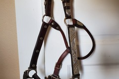 Selling: Custom Silver Show Halter
