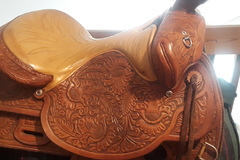 "Selling: Tex Tan Hereford Brand 16"" Saddle"