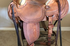 Selling: Wade Tree Colorado Saddlery Saddle 14""