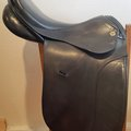 "Selling: Neidersus Dressage Saddle 17.5"" Medium Wide"