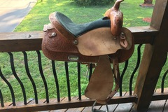 Selling: Simco Custom Saddlery Saddle 15.5""