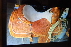 Selling: Circle Y Equitation Show Saddle 16.5""