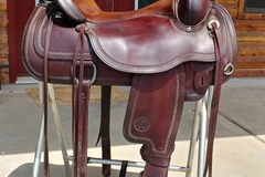 Selling: Circle Y Flex Tree Saddle 16""
