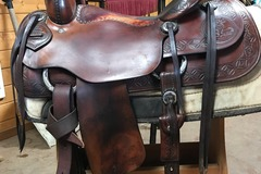 "Selling: Joey Jemison Cutting Saddle 16"" Excellent Condition"