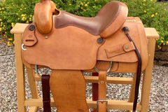 Selling: Stelzig's Ranch Western Saddle 16""