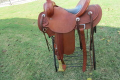 Selling: High Country Cowboy Company Will James Saddle Like New 15.5""