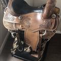 """Selling: Montana Saddlery Western Saddle 16"""""""