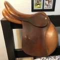 """Selling: Marcel Toulouse Claudine Close Contact Jumping Saddle 16.5"""""""