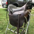 "Selling: Eli Miller Saddle 17"""