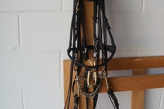 Selling: German rolled black full bridle