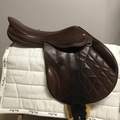 """Selling: Beautiful Style XC Saddle 17.5"""""""
