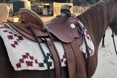 Selling: Custom Don Loewen Wade Saddle 16""