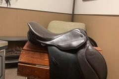 "Selling: All Purpose Stubben Scandica CS Calfskin Saddle 17"""