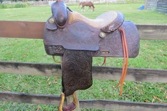 Selling: Classic Price McLaughlin Western Saddle 15""