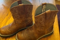 Selling: Ariat Fat Baby western boots Size 8.5