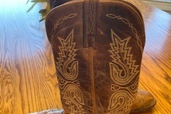 Selling: 1883 Lucchese Ostrich Western Boots Size 8.5