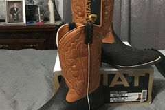 Selling: New Ariat Quickdraw Kids's Boots 10010915 Size 6M