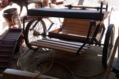 Selling: mini/pony cart and harness