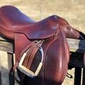"Selling: Jaguar Harry Dabbs Jumping Saddle 16"""