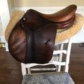 "Selling: Luc Childeric Saddle 16.5"""