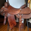 """Selling: Roohide Cutting Saddle 15.5"""""""