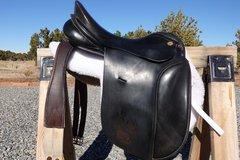 "Selling: Karl Niedersuss Derssage Saddle 17.5"""