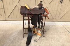 Selling: Cajun Custom Saddle 15""