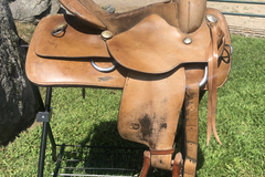 "Selling: King Series Western Saddle 16""  Weaver Bridle with Snaffle"